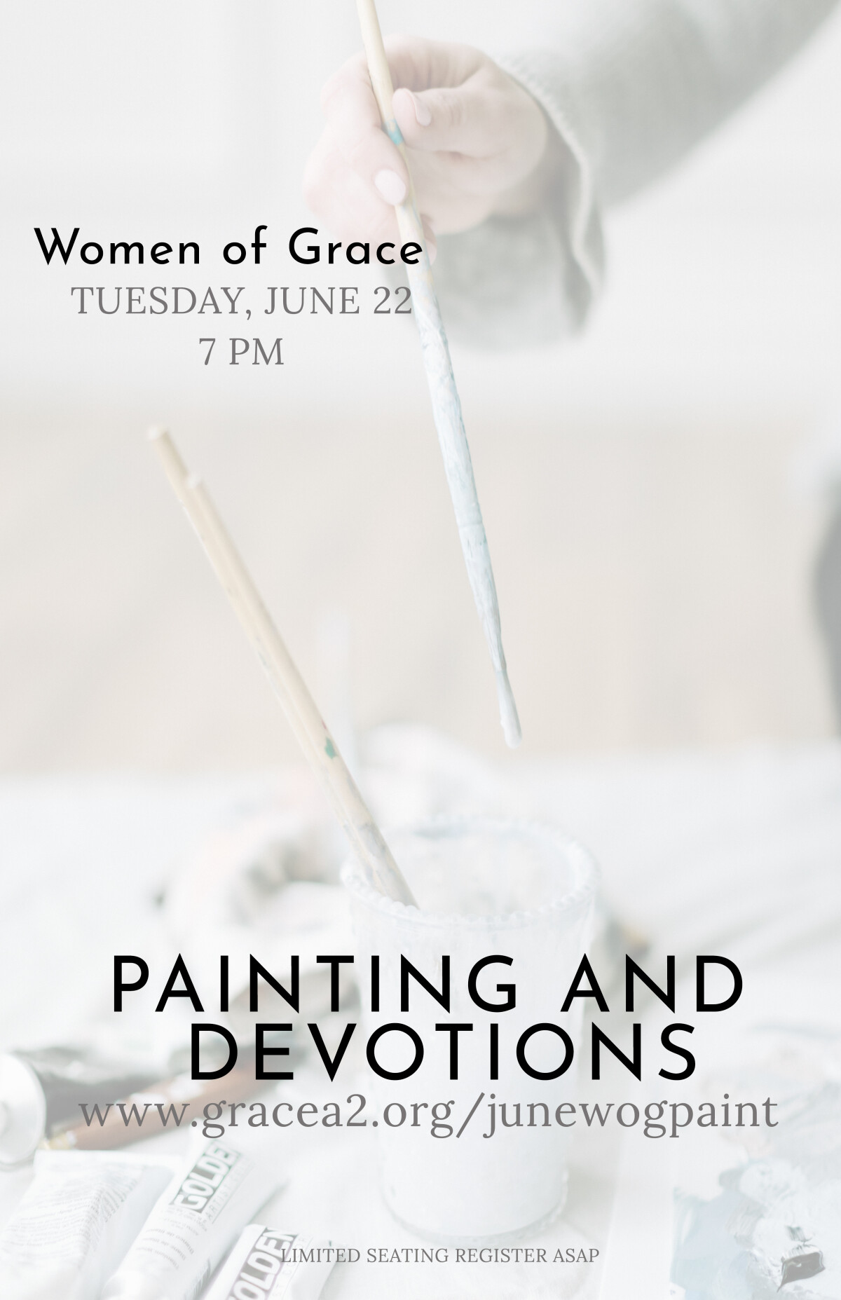 Women of Grace June Painting and Devotions